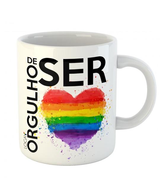 Caneca LGBT Orgulho de Ser