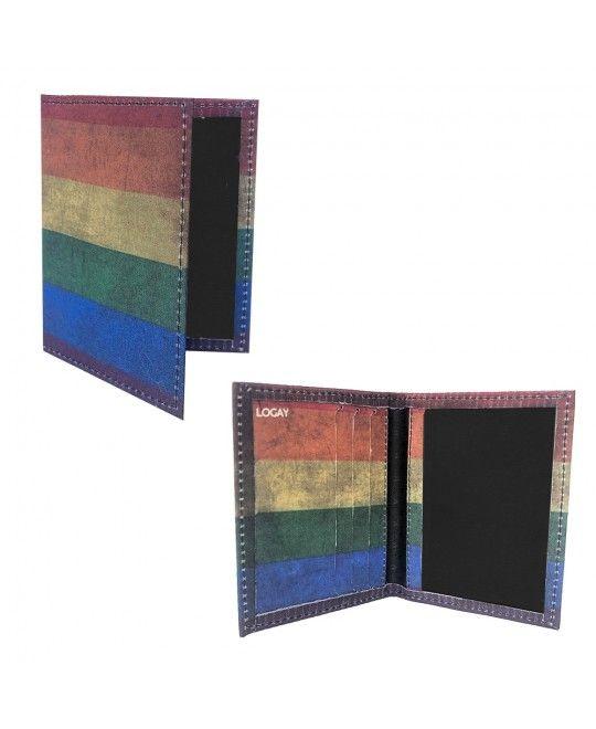 Carteira LGBT Logay Arco-Íris