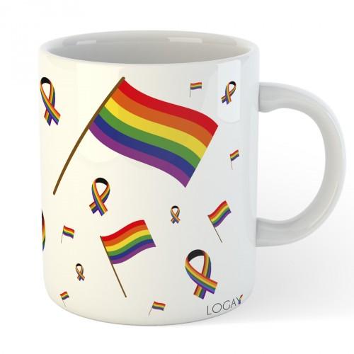 Caneca LGBT Elementos