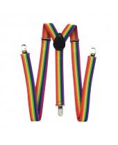 Suspensório LGBT Arco-Íris