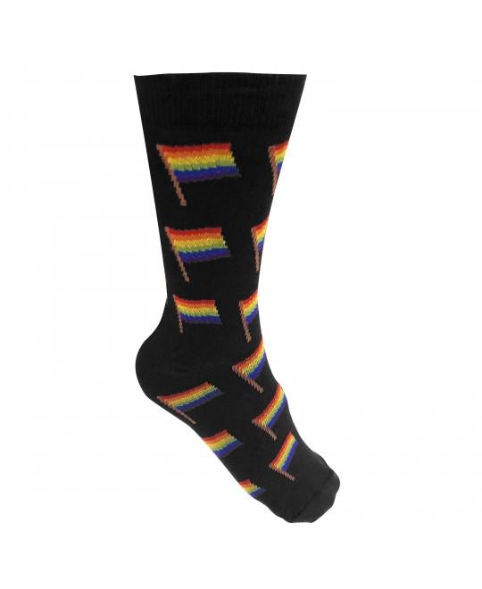 Meia Logay LGBT Bandeirinhas