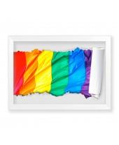 Quadro Bandeira LGBT