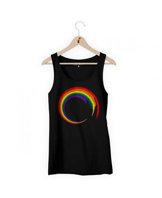 Camiseta Regata LGBT Logay Spin