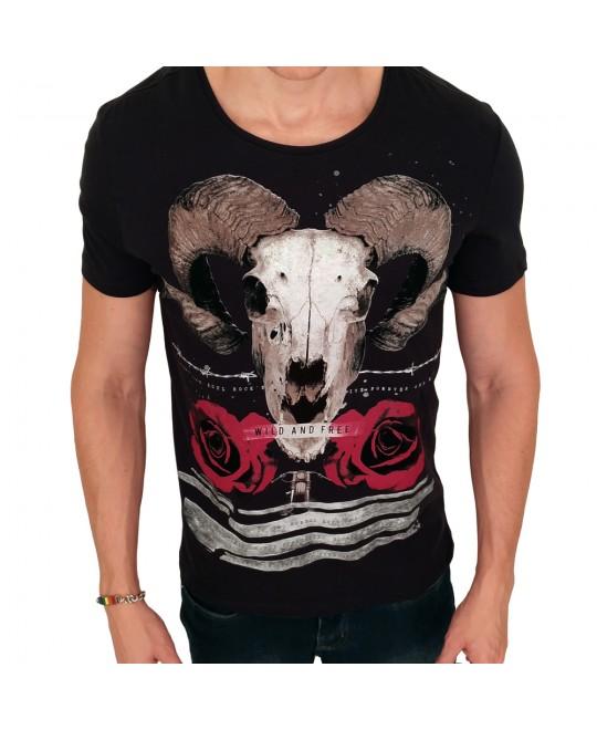 Camiseta BeFree Wild and Free
