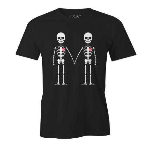 Camiseta LGBT Logay Caveirinhas