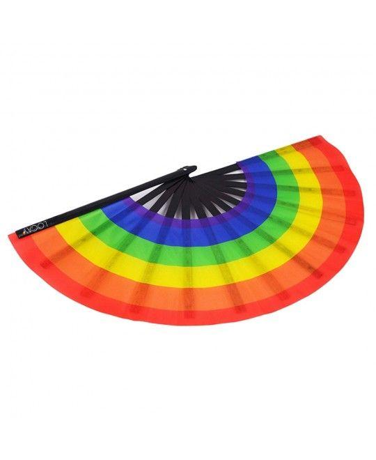 Leque Grande Logay LGBT Arco-Íris