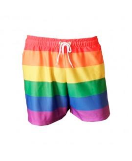 Shorts LGBT Logay Bandeira Arco-íris