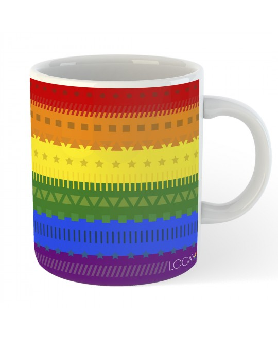 Caneca LGBT Funky