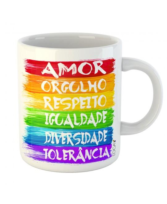 Caneca LGBT Bandeira