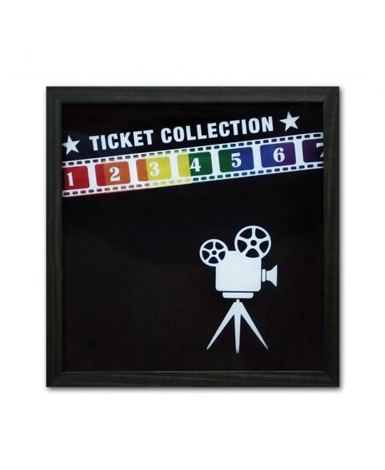 Quadro LGBT Porta Tickets Cinema