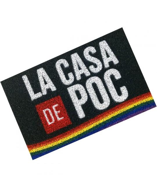 Tapete Capacho LGBT La Casa de Poc
