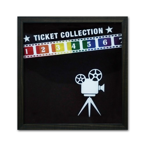 Quadro LGBT Porta Tickets Cinema