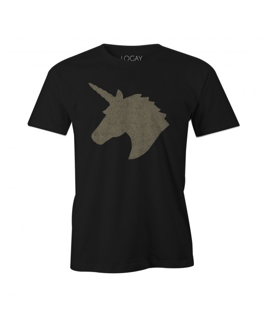 Camiseta LGBT Logay Unicórnio Metalizado