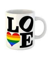 Caneca LGBT Love