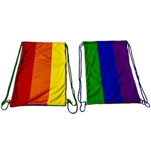 Mochila Sacola LGBT Arco-Íris