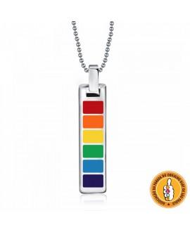 Colar LGBT Arco-Íris
