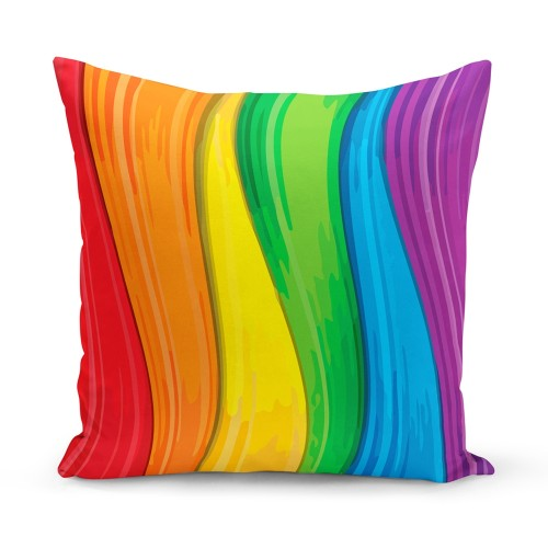 Almofada LGBT Rainbow