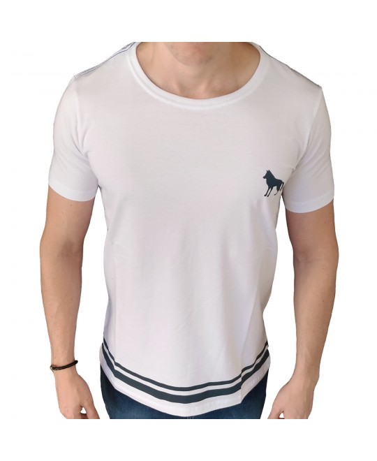 Camiseta Acostamento Candem Town Branca