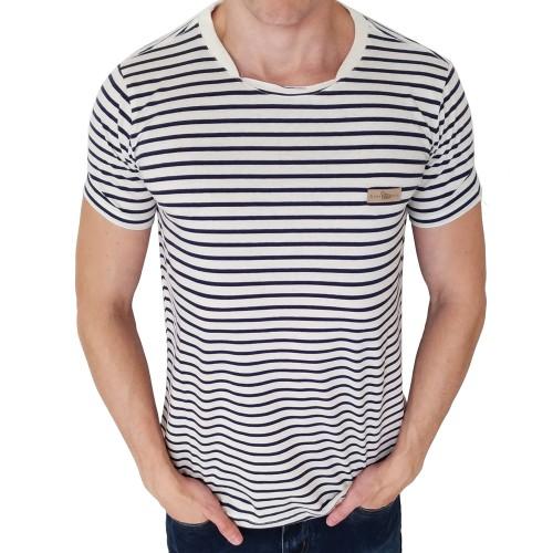 Camiseta Acostamento Listrada Rústica
