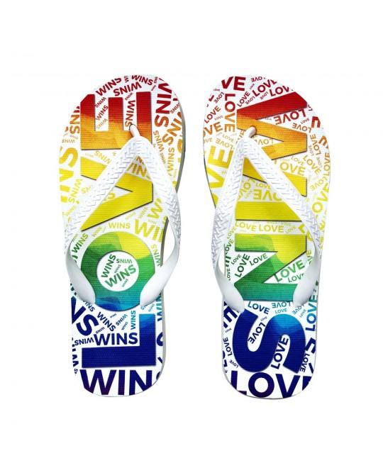 Chinelo LGBT Logay Love Wins