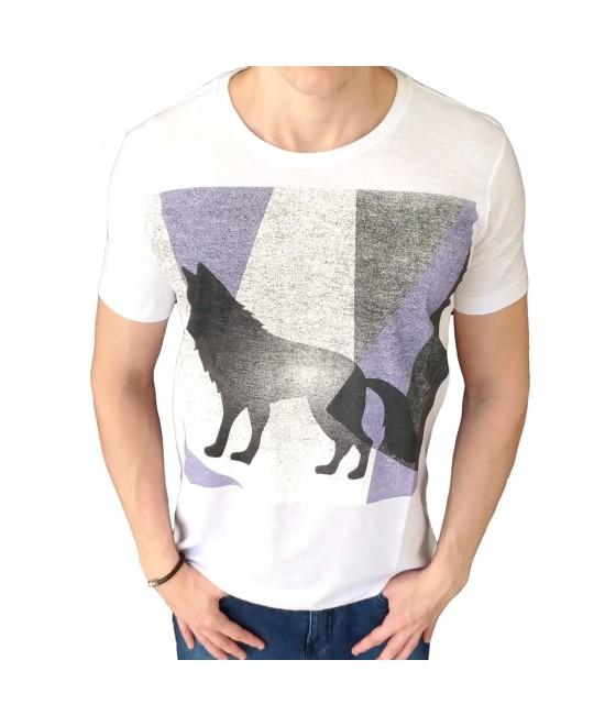 Camiseta Acostamento Estática