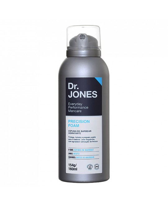 Dr Jones. Precision Foam
