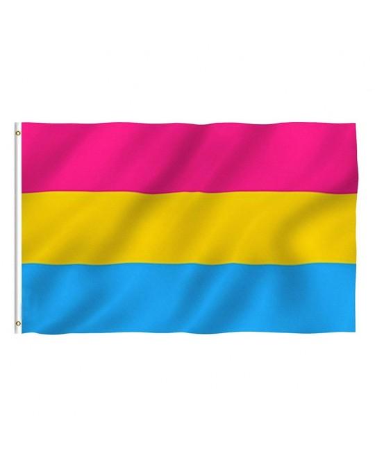 Bandeira LGBT Orgulho Pansexual