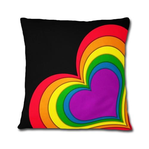 Almofada LGBT Coração