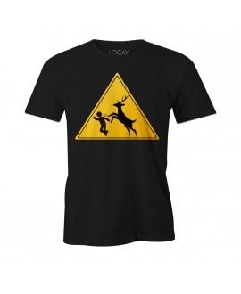 Camiseta LGBT Logay Corre Hétero