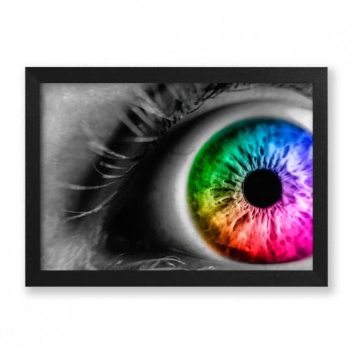 Quadro Rainbow Eye