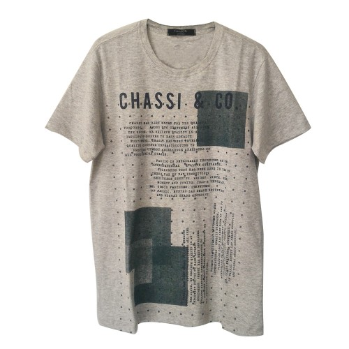 Camiseta Chassi Points Mescla