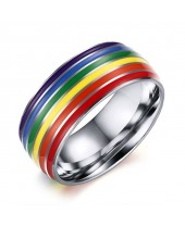 Anel LGBT Arco-Íris