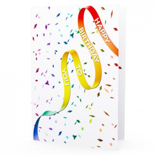 Cartão LGBT Happy Birthday to You