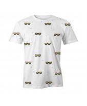 Camiseta LGBT Logay Óculos Arco-íris
