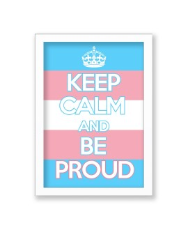 Quadro Keep Calm Trans