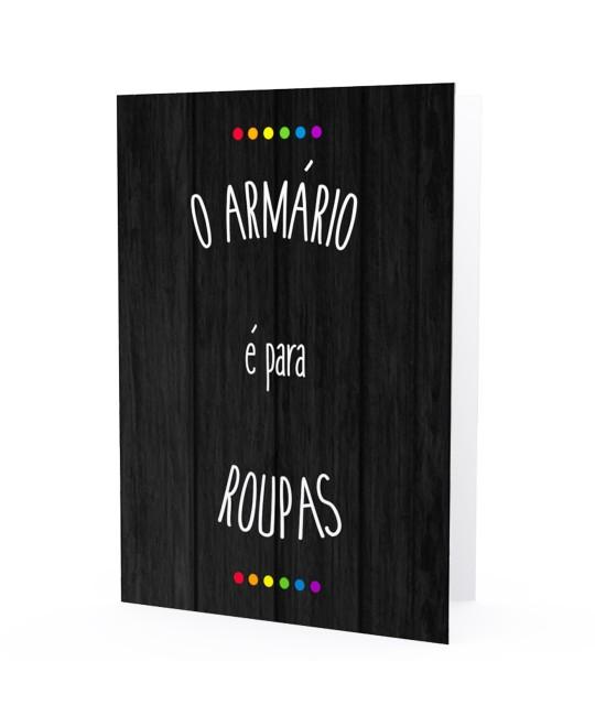 Cartão LGBT Armário