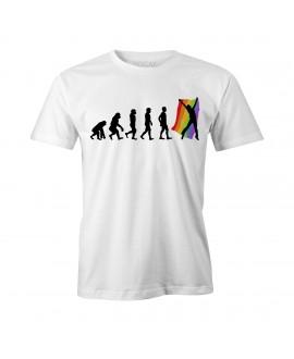 Camiseta LGBT Logay Evolução