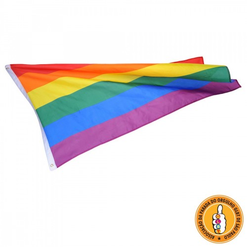 Bandeira LGBT Gay Arco-Íris
