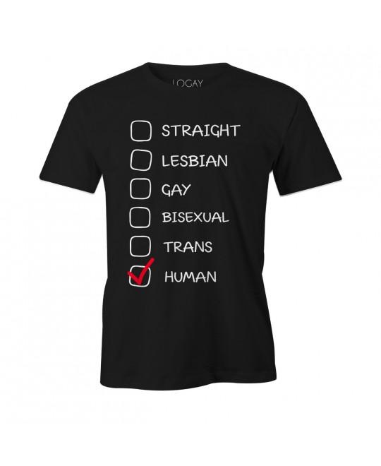 Camiseta LGBT Logay All Human