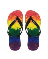 Chinelo LGBT Logay Aquarela
